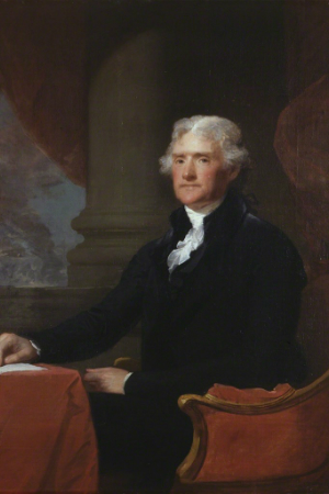 3rd President Thomas Jefferson