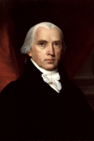 4th President James Madison, 1809-1817