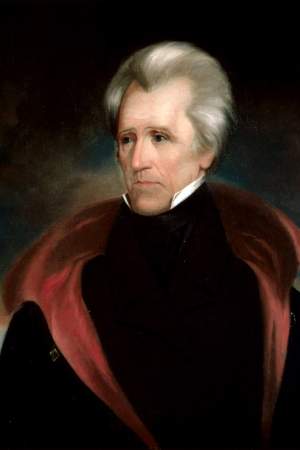 7th President Andrew Jackson, 1829-1837