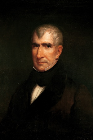 9th President William Henry Harrison, 1841