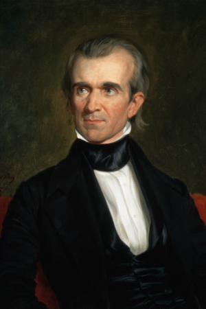11th President James K. Polk, 1845-1849