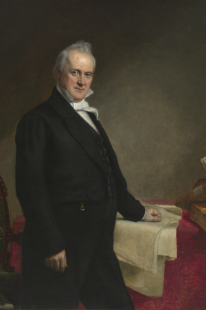 15th President James Buchanan, 1857-1861