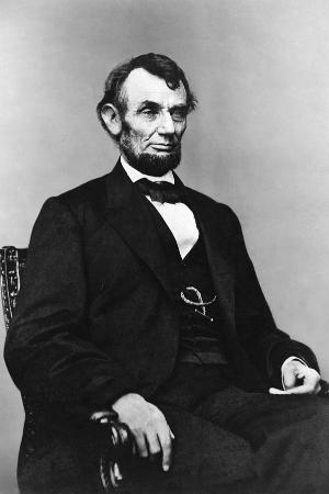 16th President Abraham Lincoln, 1861-1865