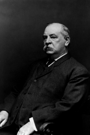 22nd & 24th President Grover Cleveland, 1885-1889 & 1893-1897