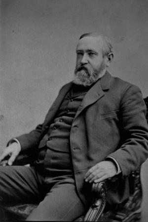 23rd President Benjamin Harrison, 1889-1893