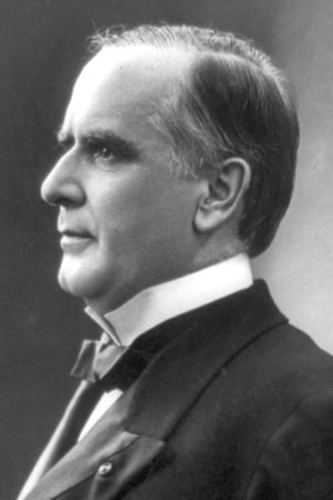 25th President William McKinley, 1897-1901