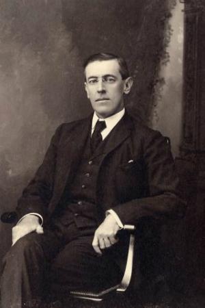 28th President Woodrow Wilson, 1913-1921