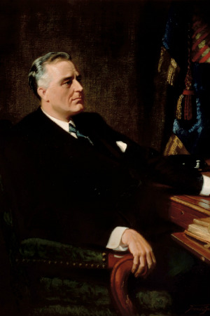 32nd President Franklin D. Roosevelt, 1933-1945