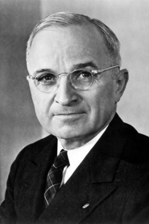 33rd President Harry S. Truman, 1945-1953