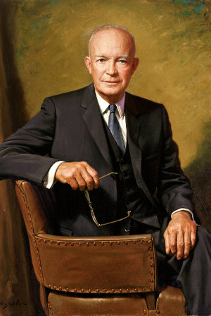 34th President Dwight D. Eisenhower, 1953-1961