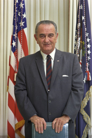 36th President Lyndon B. Johnson, 1963-1969