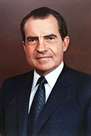 37th President Richard M. Nixon, 1969-1974