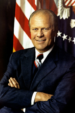 38th President Gerald R. Ford, 1974-1977