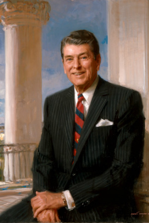 40th President Ronald Reagan, 1981-1989