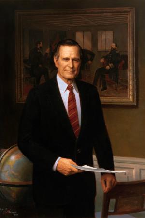 41st President George H. W. Bush, 1989-1993