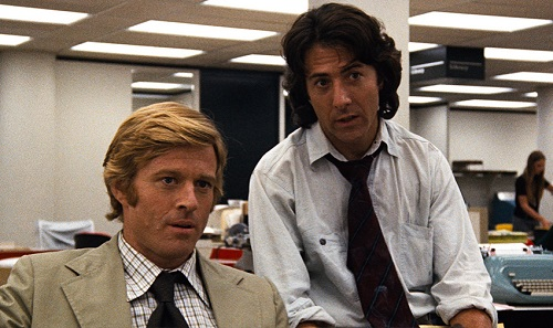 All the Presidents Men Hoffman Redford