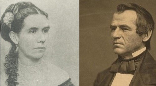 Andrew and Eliza Johnson