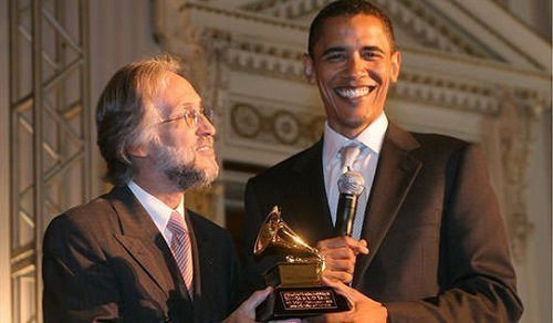 Barack Obama Grammy award