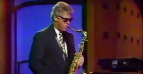 Bill Clinton Saxophone