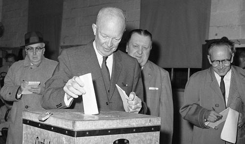 Eisenhower voting
