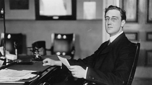 FDR as Under Secretary of the Navy