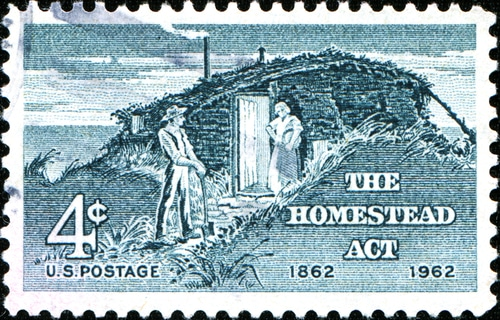 Homestead Act Stamp
