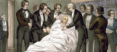John Quincy Adams death