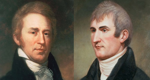 Meriwether Lewis and William Clark portraits