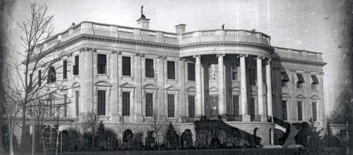 Polk White House Daguerreotype