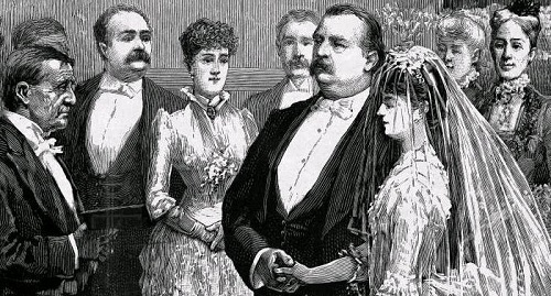 Grover Cleveland Wedding