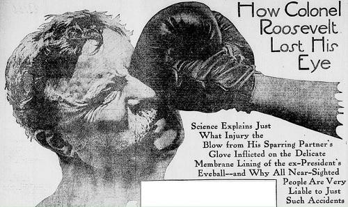 Roosevelt boxing injury
