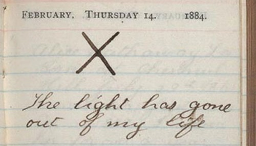 Theodore Roosevelts diary entry