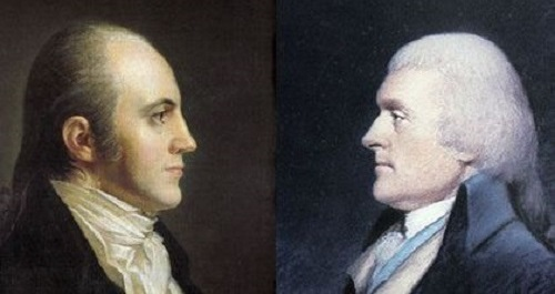 Thomas Jefferson and Aaron Burr
