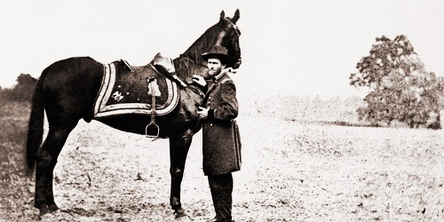 Ulysses Grant with horse