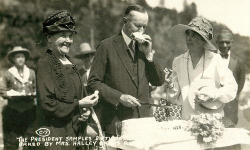 Coolidge birthday cake